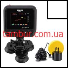 Беспроводной эхолот Lucky FL218CS-T цветной дисплей