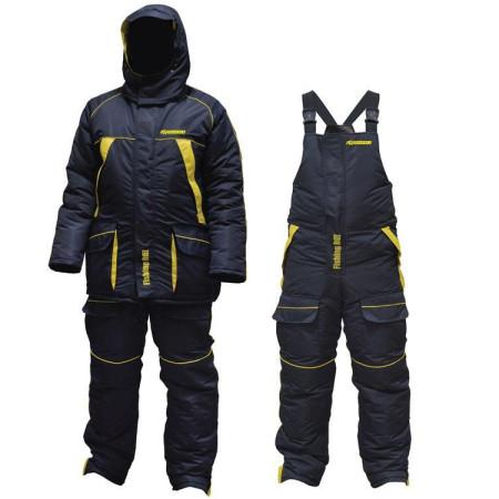 Костюм зимний Fishing ROI Thermal Pro 2 сине-желтый