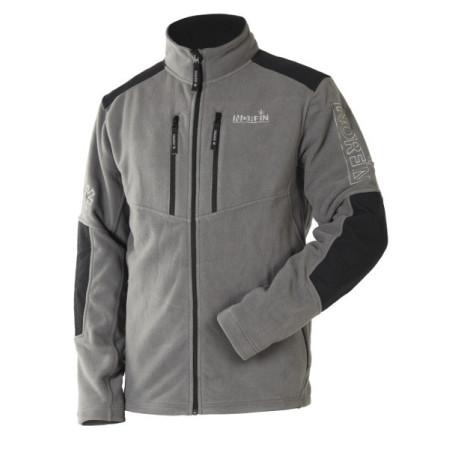 Куртка флисовая NORFIN GLACIER GRAY (охота, рыбалка, туризм)