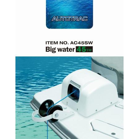 Лебедка Якорная TRAC Big Water 45 (свободное падение, с пультом д/у управления, белая для соленой воды)