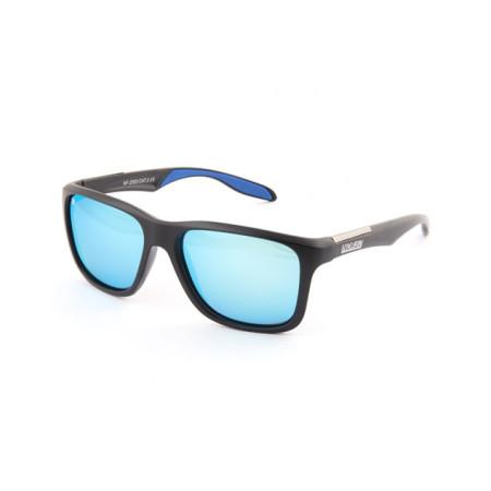 Очки поляризационные Norfin 03 (поликарбонат, линзы серые + Mirror Ice blue)