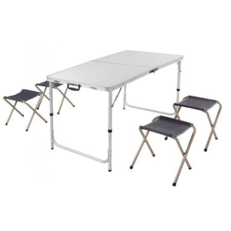 Набор раскладной стол и 4 стула для пикника