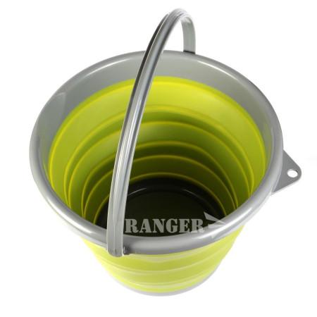 Ведро силиконовое складное Ranger 10 Л