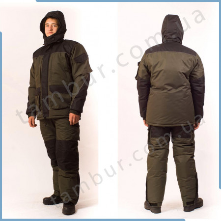 Зимний костюм Taslan Discovery Green, таслан (элитный)