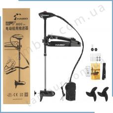 Электромотор Haibo  WFT80DG (черный) носовой 24В соленая вода