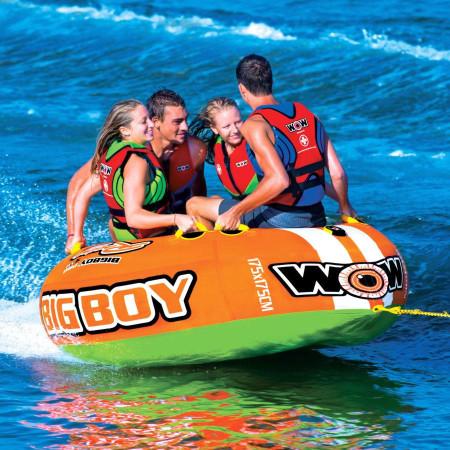 Буксируемый баллон плюшка WOW Big Вoy Racing 4Р