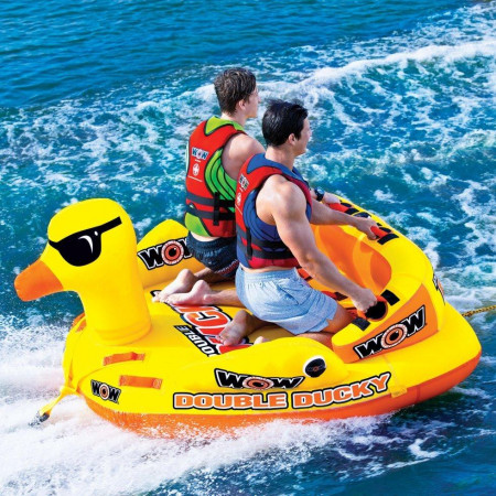Буксируемый водный аттракцион (плюшка) WOW Double Ducky 2P Towable