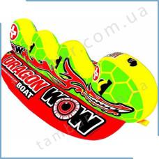 Буксируемый водный аттракцион (банан) Dragon Boat 3p