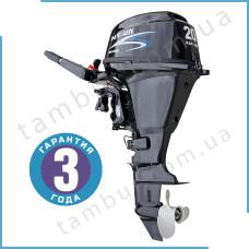 Лодочный мотор Parsun F20A BMS  (20 л.с. короткий дейдвуд,  цифровое зажигание, четырехтактный)
