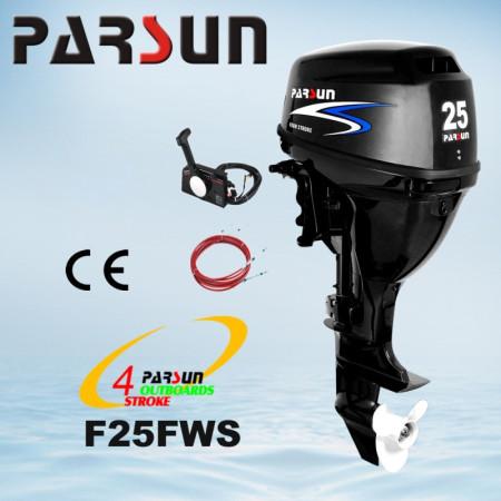 Лодочный мотор Parsun F25FWS (25 л.с. короткий дейдвуд, винт 11`, стартер, цифровое зажигание)