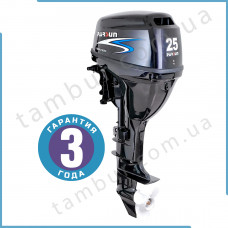 Лодочный мотор Parsun F25FWS-T (25 л.с. короткий дейдвуд, винт 11`, стартер, цифровое зажигание)