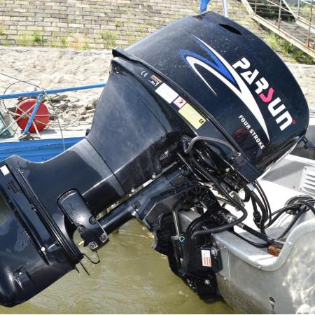 Лодочный мотор Parsun F40FWL-T-EFI   (40 л.с. длинный дейдвуд, винт 13`, стартер, инжектор, трим)