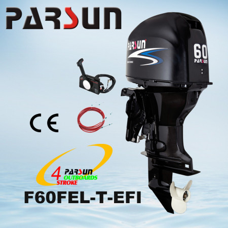 Лодочный мотор Parsun F60FEL-T-EFI  (60 л.с. длинный дейдвуд, винт 13`, стартер, инжектор, трим,