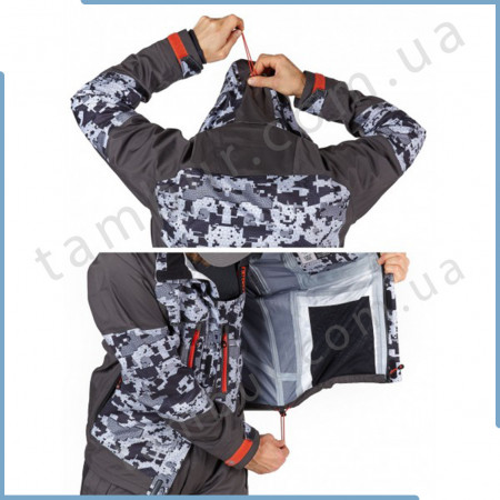 Демисезонный костюм Norfin Pro Dry 3 Camo