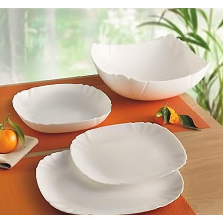 Набор столовой посуды Lotusia White 13 приборов