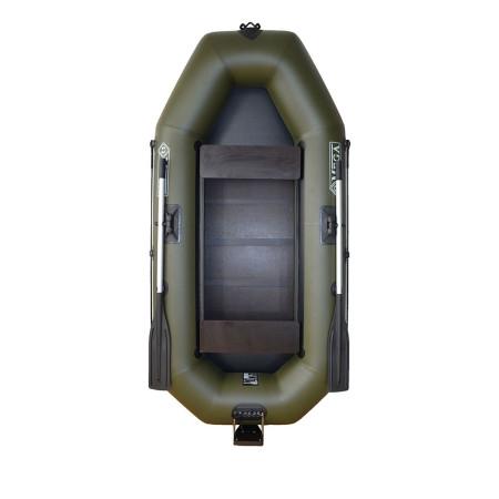 Гребная лодка с навесным транцем и привальным брусом Q250LSTP(PS)