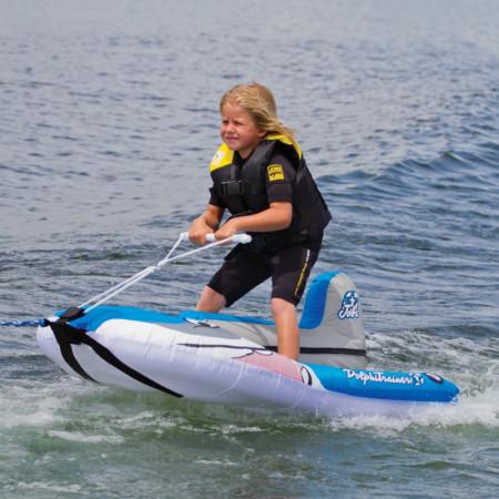 Надувной водный аттракцион  для детей Dolphi Trainer