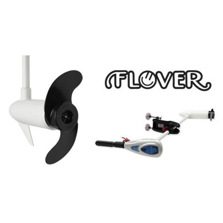 Лодочный электромотор на транец Flover 55TGS ( с телескопической ручкой и индикатор зарядки АКБ )