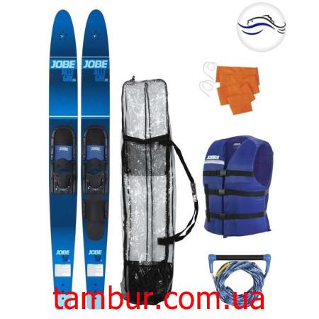 "Водные лыжи Allegre 67"" Combo Skis Blue Pack (комплект)"