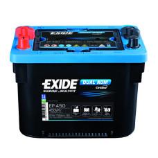 Аккумулятор Exide Dual AGM 50А/ч ( кислотно-свинцовый )
