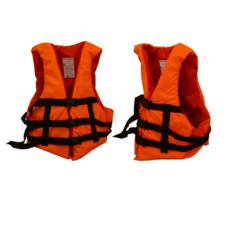 Спасательный жилет для рыбалки и охоты (оранжевый) 90-110кг