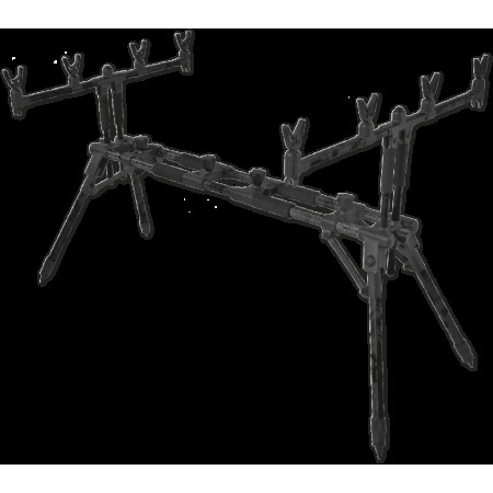 KATIUSHA rod pod (Род-под для 4-х удилищ,в чехле,в транспортировке:92x16x16cm ,вес:3.30 кг)