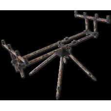 Camou 3 rod pod (Род-под для 3-х удилищ камуфлированный,в чехле, в транспортировке:88x22x9cm,вес:3,5 кг)
