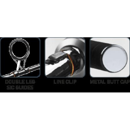 Карповое удилище Carp Zoom Masterful Carp Rod, 10' 3,00lb, 2 sections (карбон)