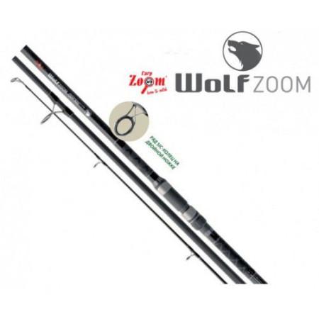 Карповое удилище WolfZoom Carp rod, 390cm, 70-140g (карбон)