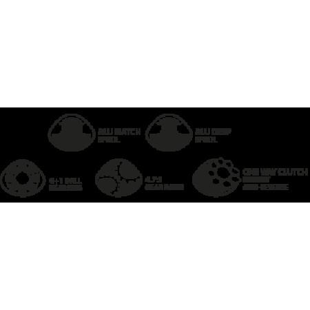 Катушка карповая Specific 5000BBC (запасная шпуля, бэйтранер)