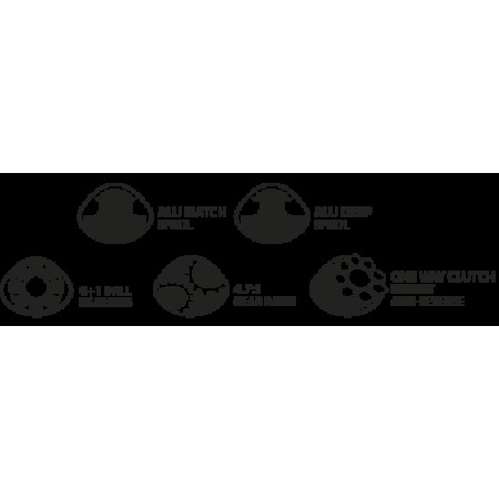 Катушка карповая Specific 6000BBC (запасная шпуля, бэйтранер)