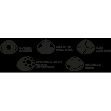 Катушка карповая MegaBite 6000 BBC (запасная шпуля, бэйтранер)