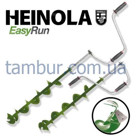 Ледобур HEINOLA EasyRun Long 130мм / 800 (Финляндия)