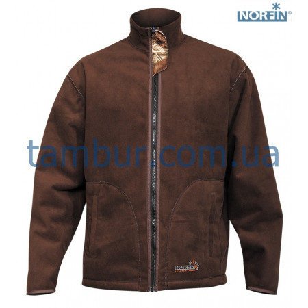 Куртка флисовая Norfin Hunting Thunder Passion/Brown (охота, рыбалка, туризм)