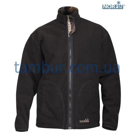 Куртка флисовая Norfin Hunting Thunder Hood Staidness/Black(охота, рыбалка, туризм)
