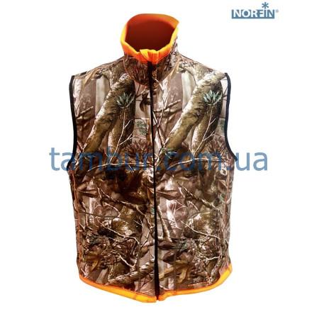 Жилет на флисе Norfin Hunting Reversable Vest Passion/Orange(охота, рыбалка, туризм)