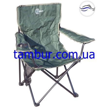Кресло зонт тёмно зеленое