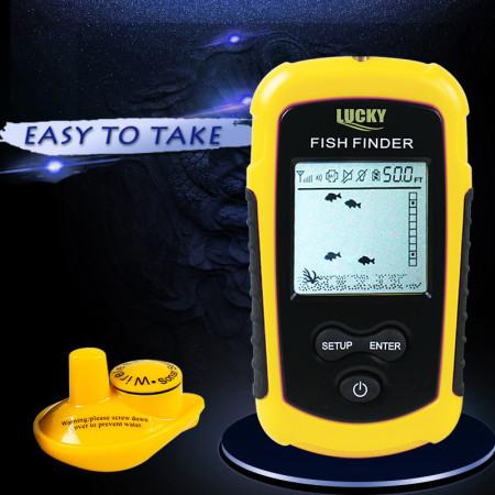 Беспроводное эхолот LuckyFishfinder FFW1108-1
