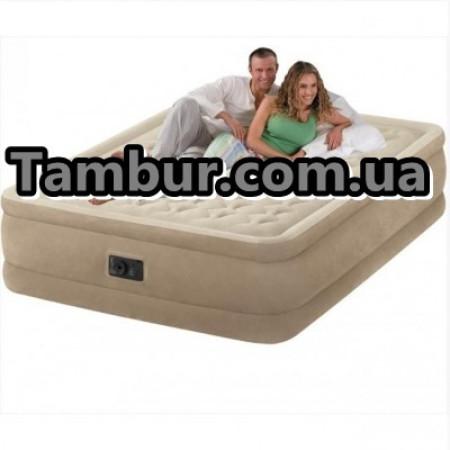 Надувная кровать INTEX ULTRA PLUSH BED двухспальная
