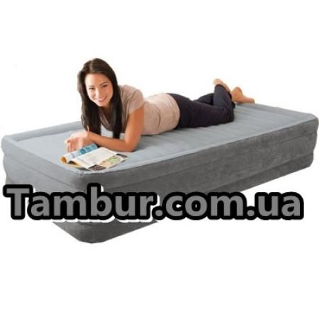 Надувная кровать INTEX COMFORT PLUSH полуторная