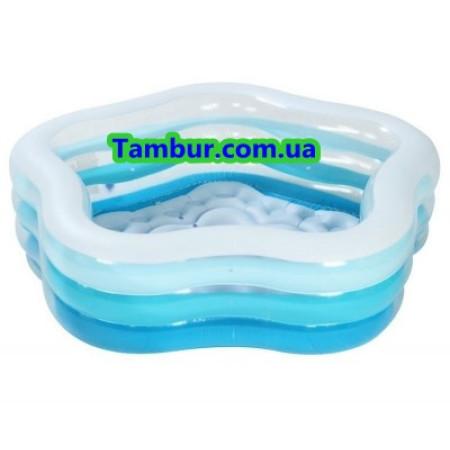 Детский надувной бассейн INTEX (185 СМ Х 180 Х 53 СМ)