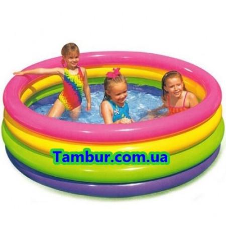 Детский надувной бассейн INTEX (168СМ Х 46СМ)