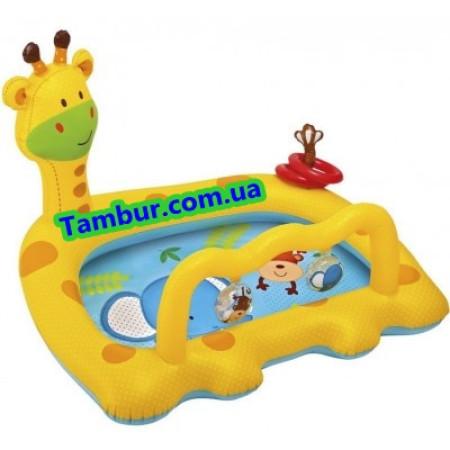 Детский надувной бассейн INTEX (112 СМ Х 91 СМ)
