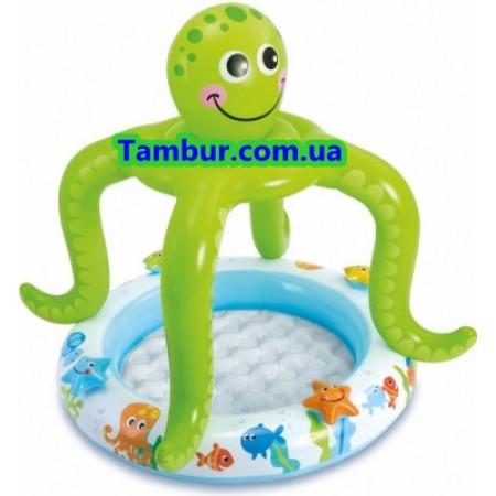 Детский надувной бассейн  INTEX (102 СМ Х 104 СМ)