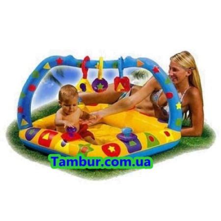 Детский надувной бассейн  INTEX (91 СМ Х 91 СМ Х 66 СМ)