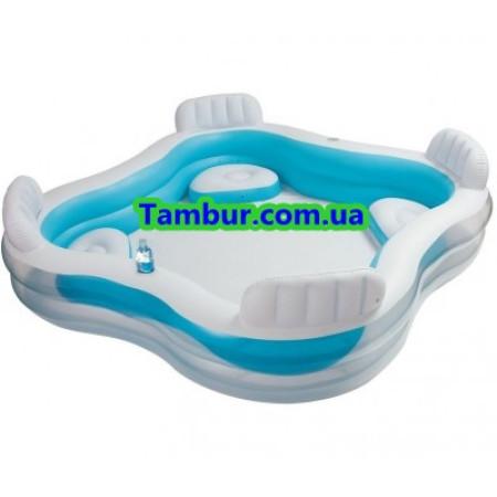 Детский надувной бассейн INTEX FAMILY (229 СМ Х 229 СМ Х 66 СМ)