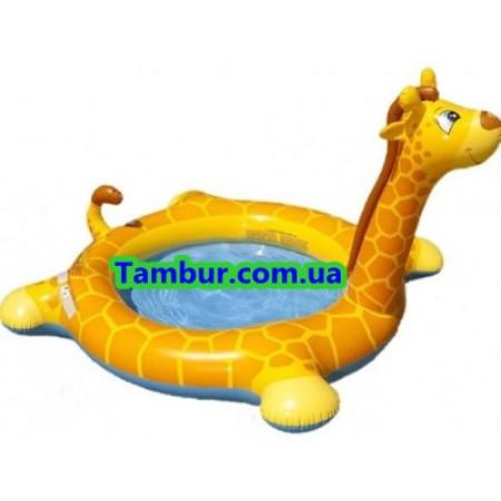 Детский надувной бассейн INTEX (205 СМ Х 165 СМ Х 122 СМ)
