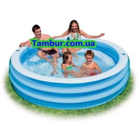 Детский надувной бассейн INTEX (203 СМ Х 56 СМ).