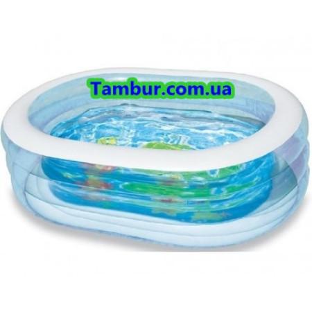 Детский надувной бассейн INTEX (165 СМ Х 107 СМ Х 46СМ)