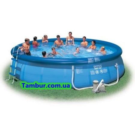 Надувной бассейн INTEX EASY SET POOL (549 СМ Х 122 СМ)